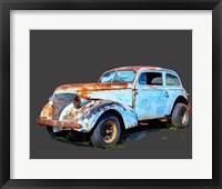 Framed Rusty Car I
