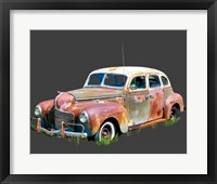 Framed Rusty Car II