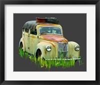 Framed Rusty Car III