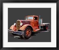Framed Vintage Truck I