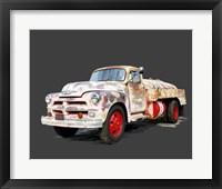 Framed Vintage Truck II