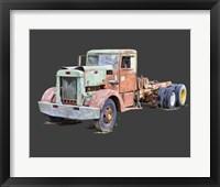 Framed Vintage Truck III