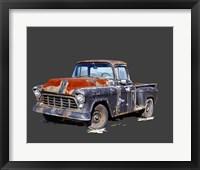 Framed Vintage Truck IV