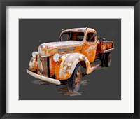 Framed Vintage Truck V