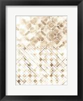 Framed Sepia Madras I