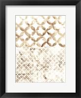 Framed Sepia Madras IV