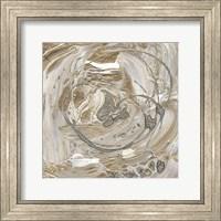 Framed Silver & Gold I