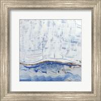 Framed Blue Highlands III