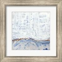 Framed Blue Highlands IV
