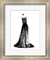 Framed Black Dress I