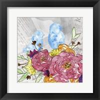 Framed Bloom & Fly IV