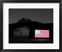 Framed Flags of Our Farmers VI