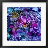 Framed Purple Outburst II