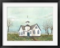 Framed Country Church III