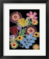 Framed Layered Floral I