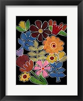Framed Layered Floral II
