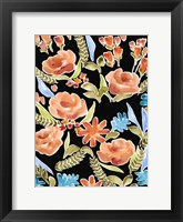 Framed Floral Assembly I
