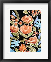 Framed Floral Assembly II