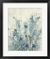 Framed Blue Spring II