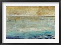 Framed Placid Water I