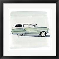Framed Classic Autos III