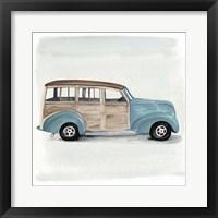 Framed Classic Autos IV