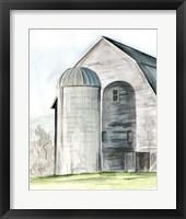 Framed Weathered Barn I