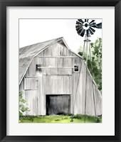 Framed Weathered Barn II