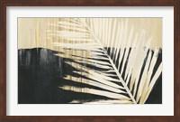 Framed Golden Raffia II