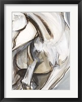 Framed Horse Abstraction II