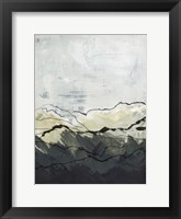 Framed Winter Mountains I