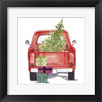 Framed Christmas Cars III