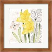 Framed Flowers & Lace II