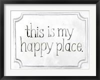 Framed Homemade Happy II