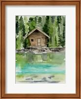 Framed Lake Views II