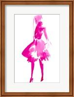Framed Fuchsia Street Fashion IV