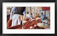 Framed Cafe Terrace