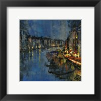 Framed Night in Venice
