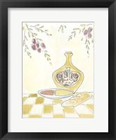 Framed Olio della Cucina I
