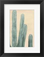 Framed Dusty Cacti II