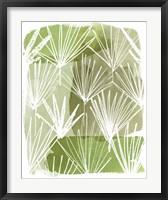 Framed Patch Palms II