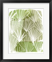 Framed Patch Palms II