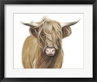 Framed Highland Cattle I