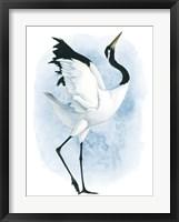 Framed Dancing Crane II