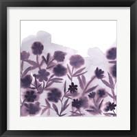 Framed Ultra Violets I