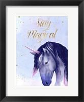 Framed Unicorn Universe  I