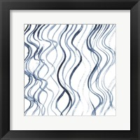 Framed Indigo Ripple IV