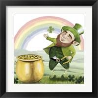 Framed Leprechaun's Rainbow I