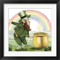 Framed Leprechaun's Rainbow II