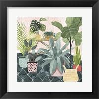 Framed Modern Jungle I